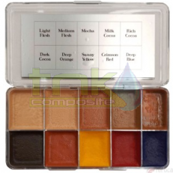 PALETA COLOR Deeper flesh Tone