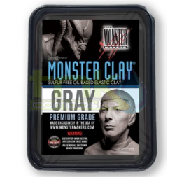 Monster Clay 2.27kg GRAY...